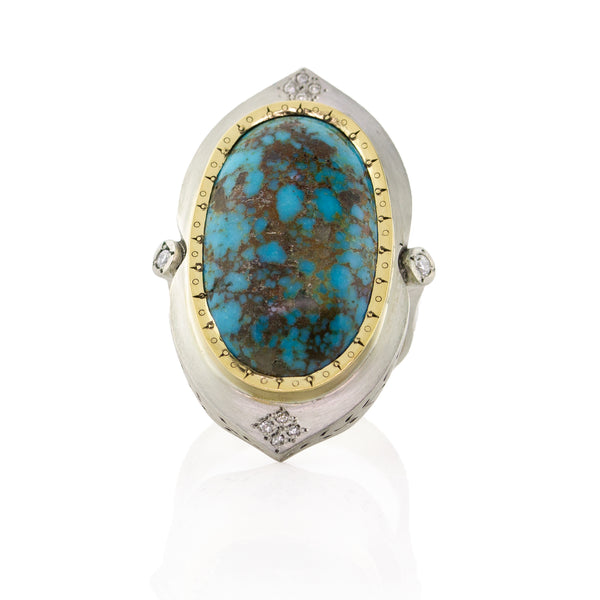 PERSIAN TURQUOISE HARMONY RING