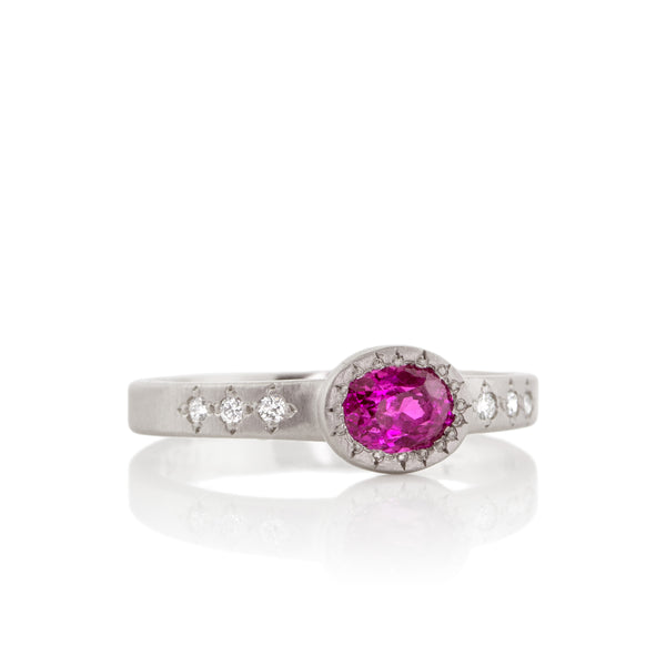 Oval Bezel Ring