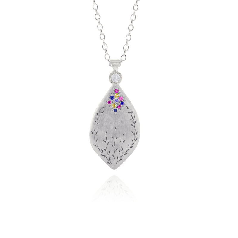 Multi-stone Secret Garden Pendant