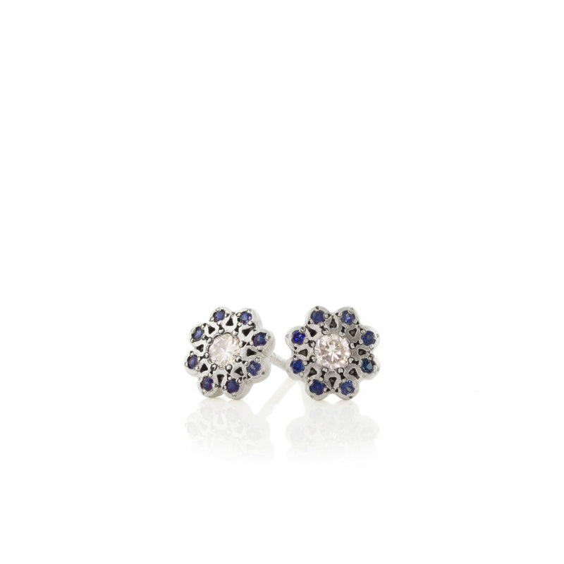 MOONFLOWER CHARM STUDS