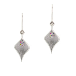 SECRET GARDEN MULTISAPPHIRE EARRINGS