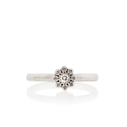 MOONFLOWER CHARM RING