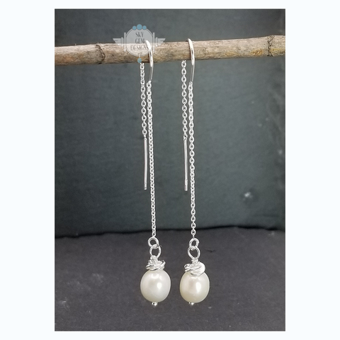 SWEET GEMS MYSTICAL FRESHWATER PEARL DROP EARRINGS