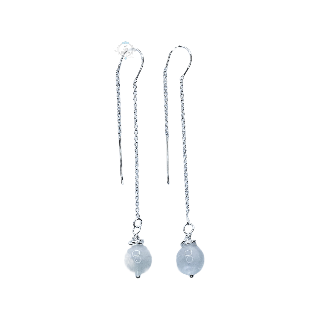 SWEET GEMS MYSTICAL MOONSTONE DROP EARRINGS