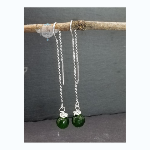 SWEET GEMS MYSTICAL JADE DROP EARRINGS