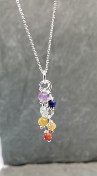 ENDLESS CIRCLE RAINBOW NECKLACE