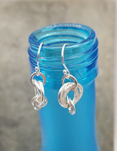 ENDLESS CIRCLE HAMMERED RINGS EARRINGS