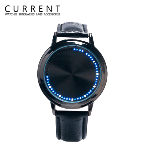 Women's LED Touch Screen Blue Light Watch