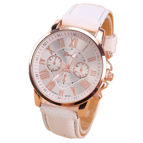 SHSHD Women's Leather Watch
