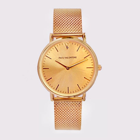 Paul Valentine Ladies Leather Watch