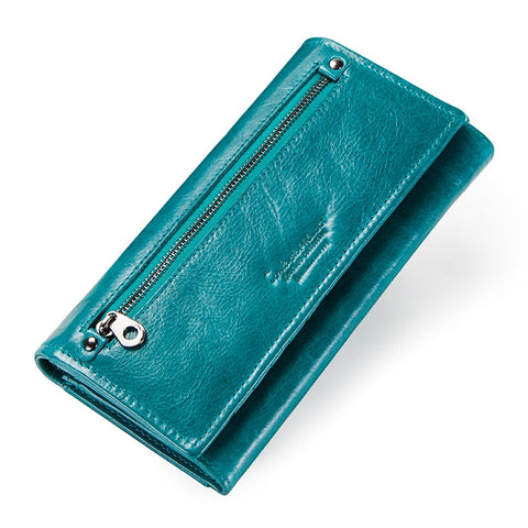 Contact Ladies Genuine Leather Wallet/Purse