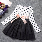Bella Casual Polka Dots Tops and Skirt