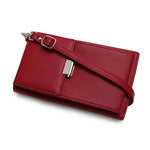 Forrola Burgundy Leather Sling Pouch