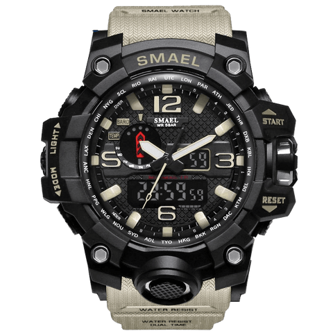 Smael Men's Rugged Watch