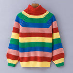 Anita Rainbow Turtleneck