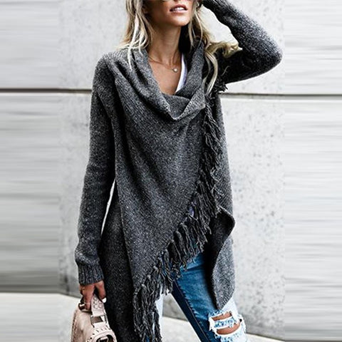 Tassel Knitted Sweater