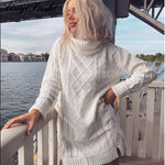 Mia Turtleneck Knitted Sweater