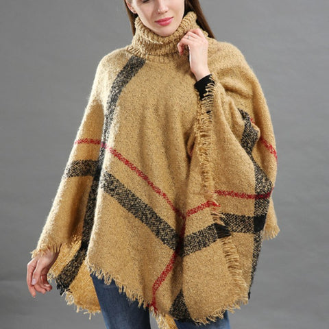 Comfy Poncho Sweater