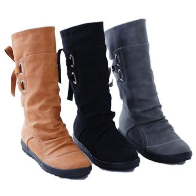Mid-Calf Fashion Boots