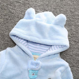 Winter Baby Rompers Bear Style