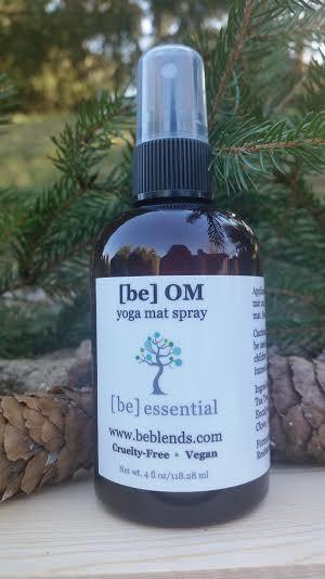 be OM Yoga Mat Spray