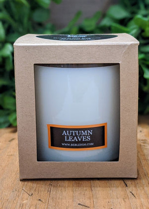 Autumn Leaves Glass Tumbler Soy Candle