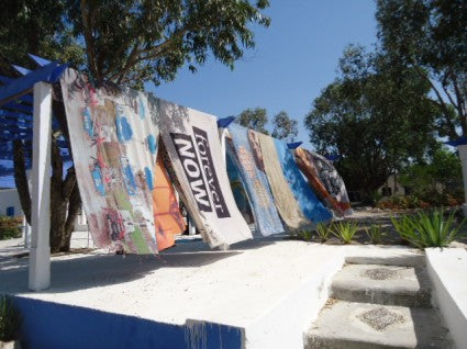 The Air/Port Flags Have Landed At Auberge Tangaro- And All Are For Sale!