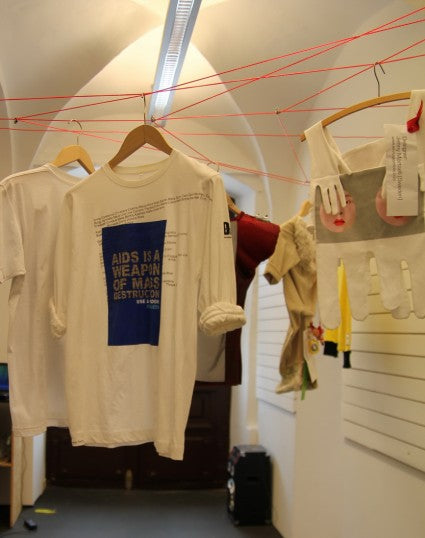 Over 160 Customized T-Shirts And Other DAA Garments Selected For A New Exhibition In Turnhout, Belgium