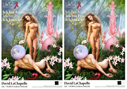 Life Ball Poster By David LaChapelle Sets Tongues Wagging