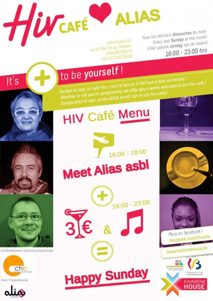 Get Tested For Free At The HIV Cafè Rainbow House In Brussels