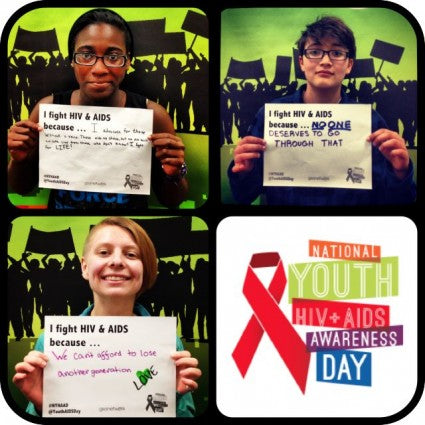 Support HIV Awareness With A Selfie