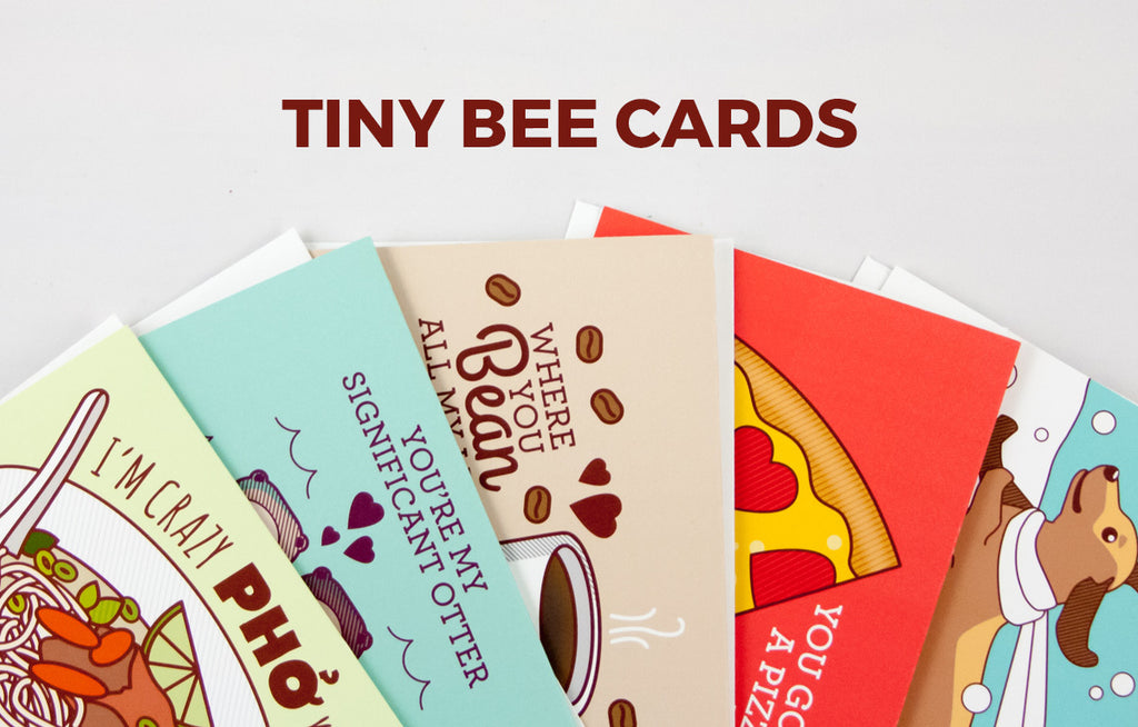 Tiny Bee Cards