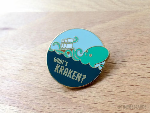 What's Kraken Hard Enamel Pin