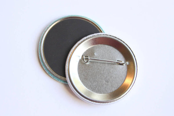 "Funny Platypus Magnet, Pinback Button, or Pocket Mirror ""You Platypush My Buttons!""-Button-TinyBeeCards"