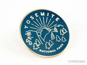 Yosemite National Park Enamel Pin-Enamel Pin-TinyBeeCards