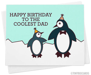 Happy Birthday to the Coolest Dad Card