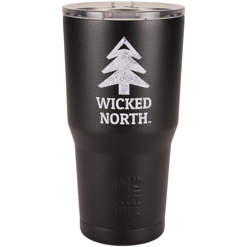 Wicked North™ // Big Frig Black 20 oz. Tumbler