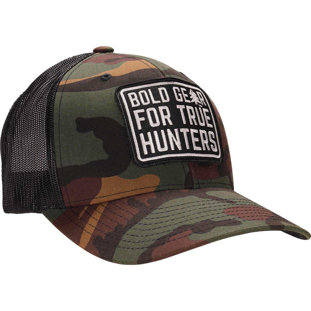 Woodland Camo Retro Trucker Hat