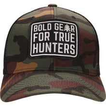 Load image into Gallery viewer, Woodland Camo Retro Trucker Hat