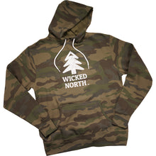Load image into Gallery viewer, Wicked Forest Camo Lightweight Hoodie