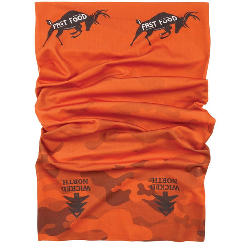 Fast Food Deer Neck Gaiter Face Covering