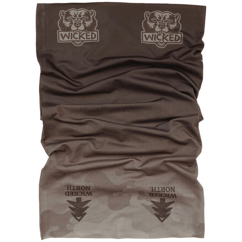 Wicked Bear Camo Fade Neck Gaiter Face Covering