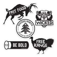 Load image into Gallery viewer, Wicked Wilderness™ Sticker Pack