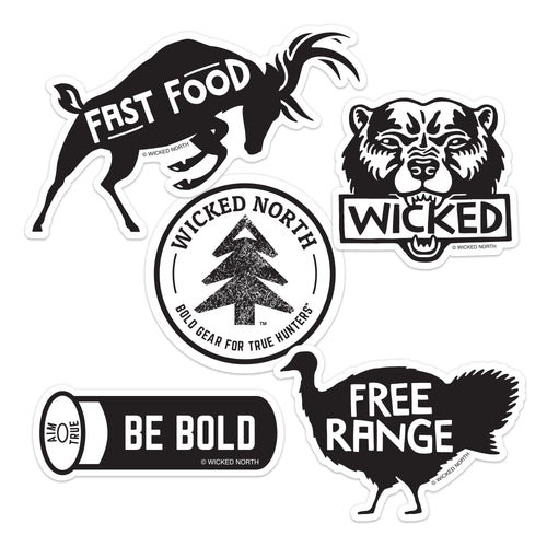 Wilderness Sticker Pack