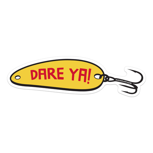 Dare Ya! Spoon Sticker