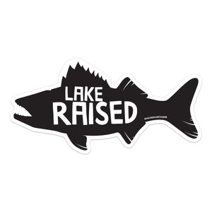 Lake Raised Walleye Sticker