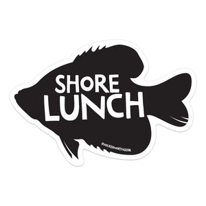 Shore Lunch Crappie Sticker