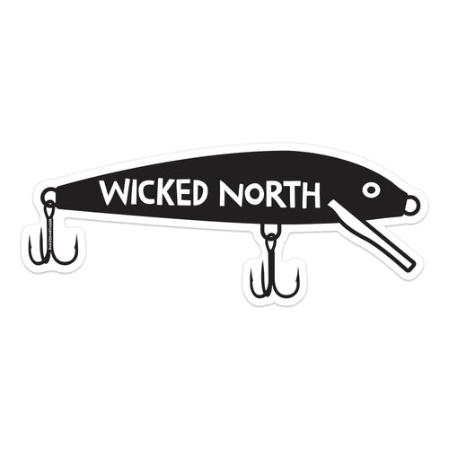 Wicked North™ Crank Bait Sticker
