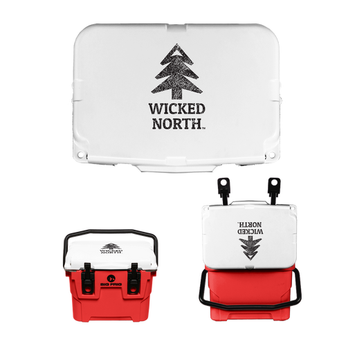 Wicked North x Big Frig 10 QT Badlands Cooler - Multiple Colors