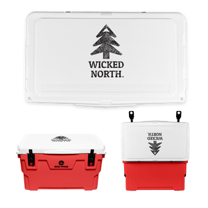 Wicked North x Big Frig 45 QT Badlands Cooler - Multiple Colors